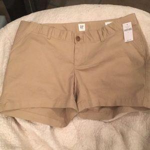 Gap Maternity khaki shorts